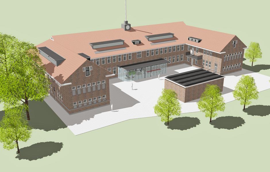 Transformatie kazerne Ede | Wonen-Werken_Zorgen 50+